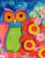 Awake Owl