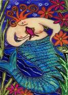 Big Diva Redhead Mermaid
