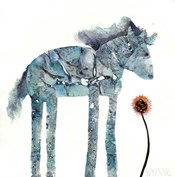 Blue Painted Pony