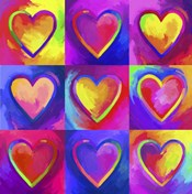 Pop Art Heart 2
