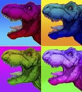 Pop Art Dinosaurs 1