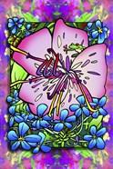 Pink Flower Frog