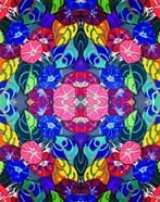 Pop Art Flowers Kalidescope