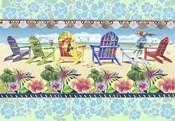 Coastal Chairs Floral