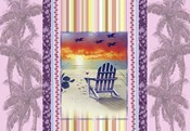 Sunset Chair Palm