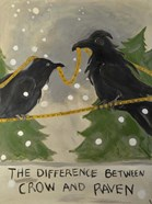 The Difference Between Crow And Raven