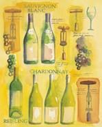 White Wine Collage