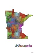Minnesota State Map 1