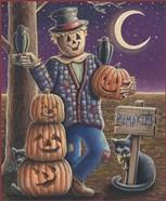 Apple Scarecrow