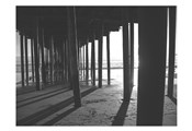 Under The Pier black & White