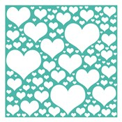 Teal Heart Storm
