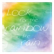 Rainbow In Rain