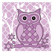 Lilac Patterened Owl