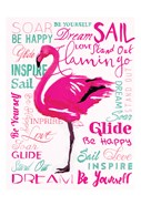 Wordy Flamingo