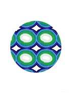 Blue and Green Ball