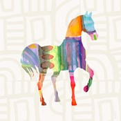 Colorful Horse III