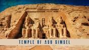 Vintage Temple of Abu Simbel, Nubia, Egypt, Africa