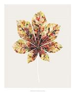 Fall Mosaic Leaf IV