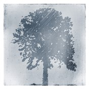 Frosted Tree Silhouette 1