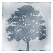 Frosted Tree Silhouette 2
