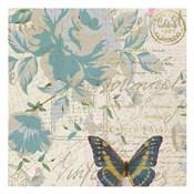 Carte Postal Floral 2
