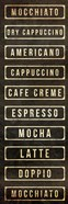 Coffee List