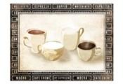 Row Of Coffee Cream