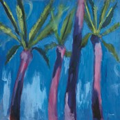 Palm Trees with Pink