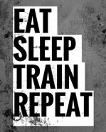 Eat Sleep Train Repeat