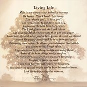 Living Life - Tree Silhouette