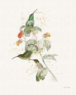 Colorful Hummingbirds III