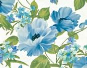 Summer Poppies Blue