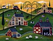 American Organic Herb  Sheep Cow Farmland