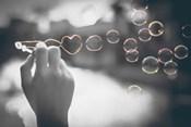 Pop of Color Rainbow Love Bubbles