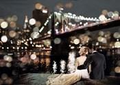 Kissing in a NY Night