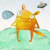 Alien Friend #4