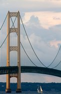 Mackinac Bridge on a Clear Day