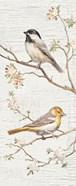 Vintage Birds Panel II