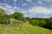 Battlefield bunker, Vicksburg National Military Park, Mississippi