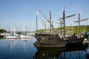 Mississippi Reproductions of Columbus ships the Nina and Pinta