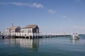 Straight Wharf water taxi, Nantucket, Massachusetts