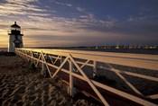 Brant Point Light at Sunrise, Nantucket Island, Massachusetts