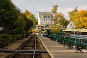 Scenic railroad at Weirs Beach, New Hampshire
