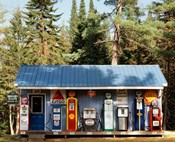 Gas station, New Hampshire