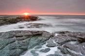 Sunrise near Brenton Point State Park, Newport, Rhode Island