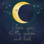 I Love You To The Moon 1