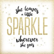 She Leaves a Sparkle 1