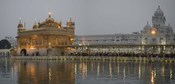 Golden Temple at Dusk, Amritsar, India