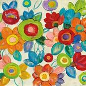Decorative Flowers Bright Crop