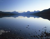 Lake McDonald and the Rocky Mountains, Montana